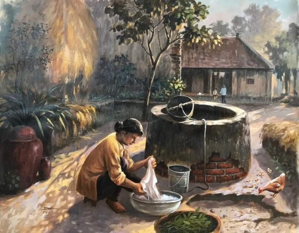 Bộ ảnh về làng quê Việt Nam đẹp huyền ảo như trong truyện cổ tích