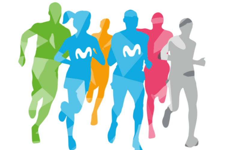 media maraton madrid logo