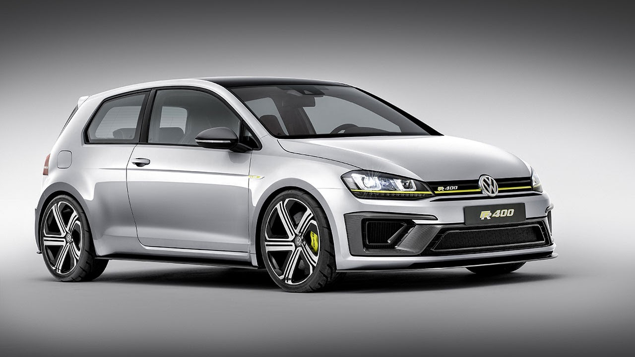 400 PS Four-Wheel-Drive Golf R 400 Concept