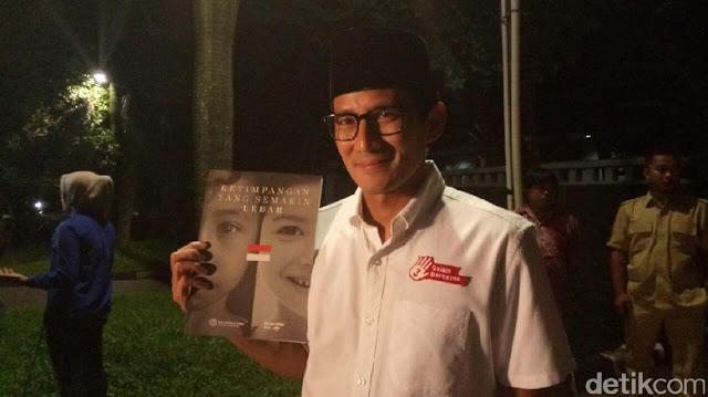 Sandiaga: Deklarasi Prabowo Capres Digelar Agustus