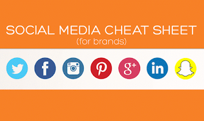 Social Media Cheat Sheet For Brands