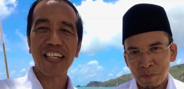 Tiba di Sumbawa, Jokowi Lakukan Pertemuan Tertutup dengan TGB