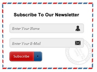 3. Email Subscription Box Widgets