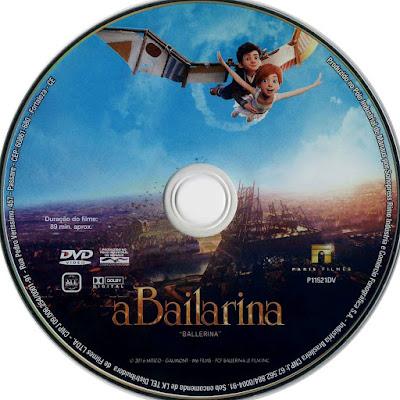 Label DVD A Bailarina