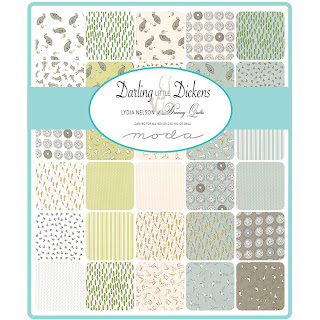 Moda Darling Little Dickens Fabric by Lydia Nelson for Moda Fabrics
