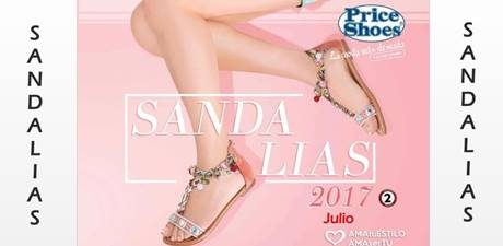 Catalogo Price Shoes: Sandalias Verano 2017