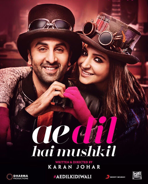 Ae Dil Hai Mushkil Movie Trailer Release Posters