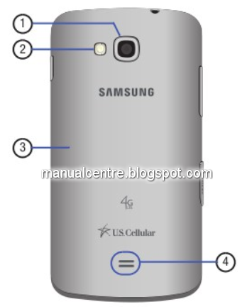 Samsung Galaxy Axiom Back Views