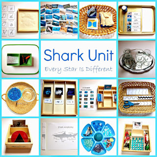 Shark activities and free printables for kids.