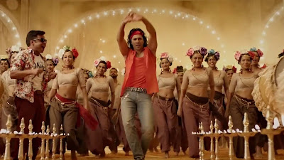 Varun Dhawan Dancing Photo In Judwaa 2 Movie