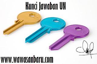 Kunci Jawaban UN