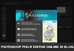 Memasang Photoshop Pixlr Editor Online Di Blog