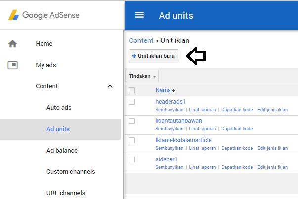 Google Adsense kita ketahui memberikan sedikit jenis iklan yang akan ditampilkan di situ Tutorial Membuat Iklan Tautan (Link) Google Adsense Sebagaimana Tombol