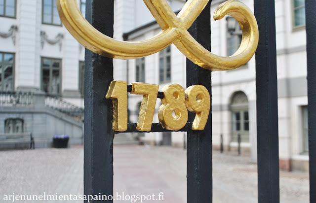 Tukholma, gamla stan, arkkitehtuuri, loma