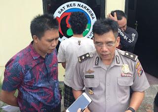 Hebat ! Polisi KLU Berhasil Amankan 1,55 Gram Sabu