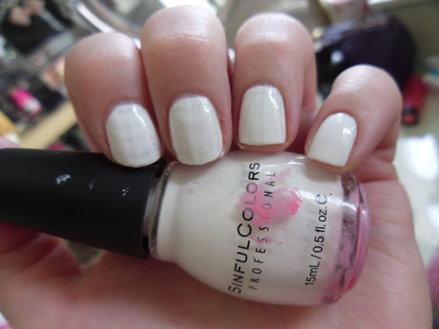 Sinful Colours Snow Me White Nail Polish