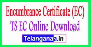 Encumbrance Certificates EC online TS Telangana Registration