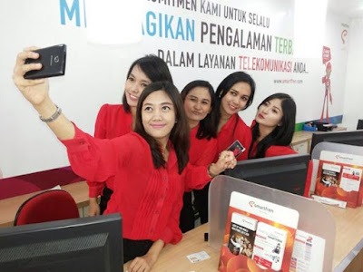 LOWONGAN KERJA MIN,SMA,SMK,D3,S1 PT SMARTFREN TELOCOM TBK MENERIMA KARYAWAN BARU PENERIMAAN SELURUH INDONESIA