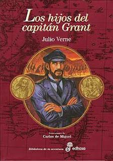 Portada del libro Los hijos del capitán Grant para descargar en pdf gratis