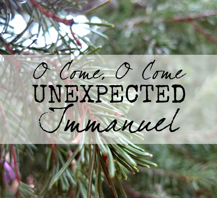 advent devotion jesus christianity unplanned unprepared unexpected