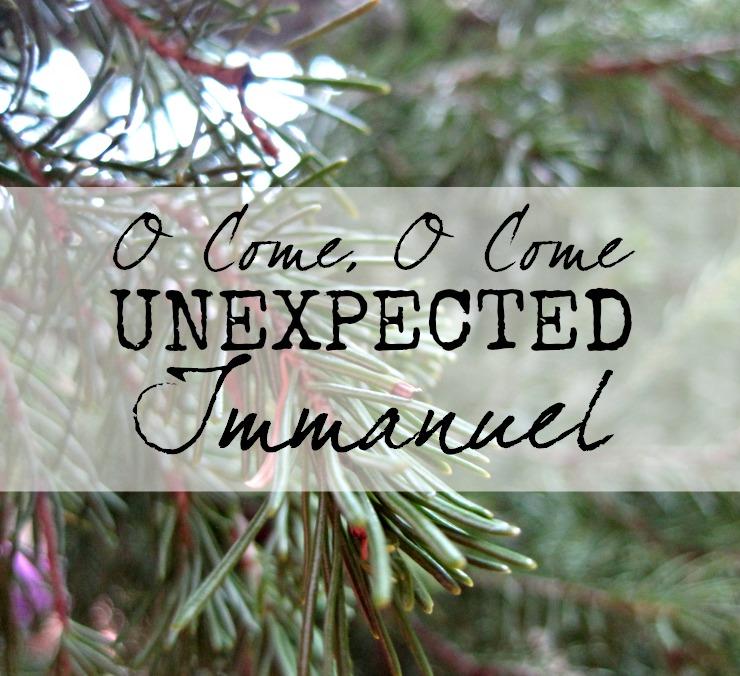 advent devotion jesus christianity unplanned unprepared unexpected
