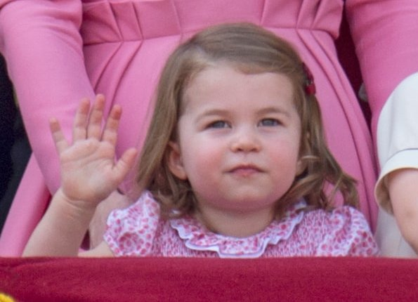 Queen Elizabeth, Duchess Camilla, Kate Middleton, Duchess Catherine, Princess Eugenie, Princess Beatrice, Princess Charlotte, Prince George, Prince Harry