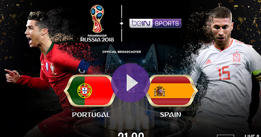 Spain vs Portugal live match - goals world cup 2018