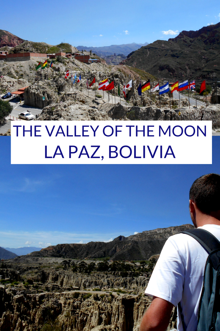 The Valley of the Moon, La Paz, Bolivia