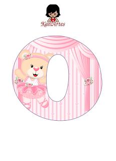 Alfabeto de Osita Ballerina.