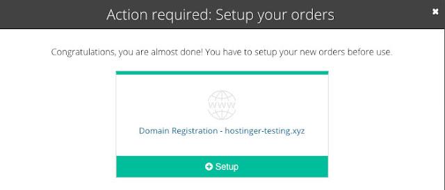 verifikasi data hostinger