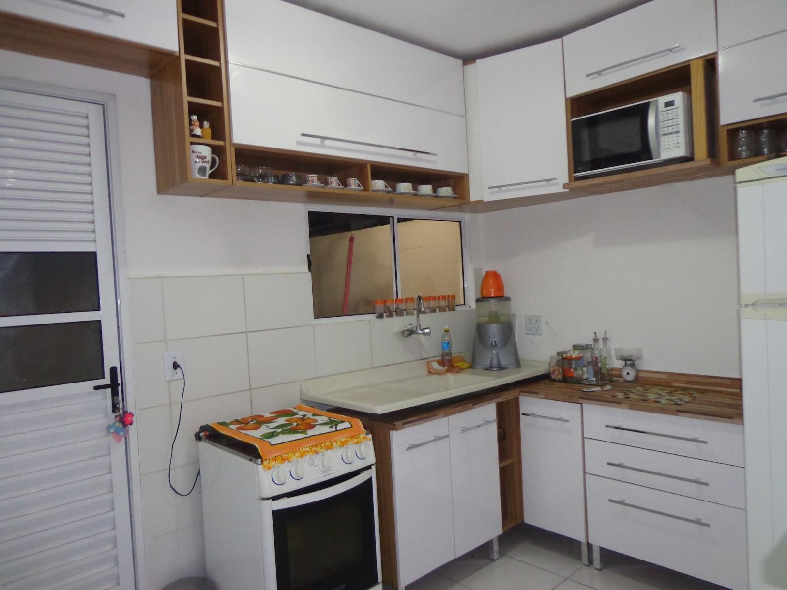 Minha Cozinha Antes E Depois Das Pastilhas Fabiana Souza ~ Pastilha Cozinha Americana