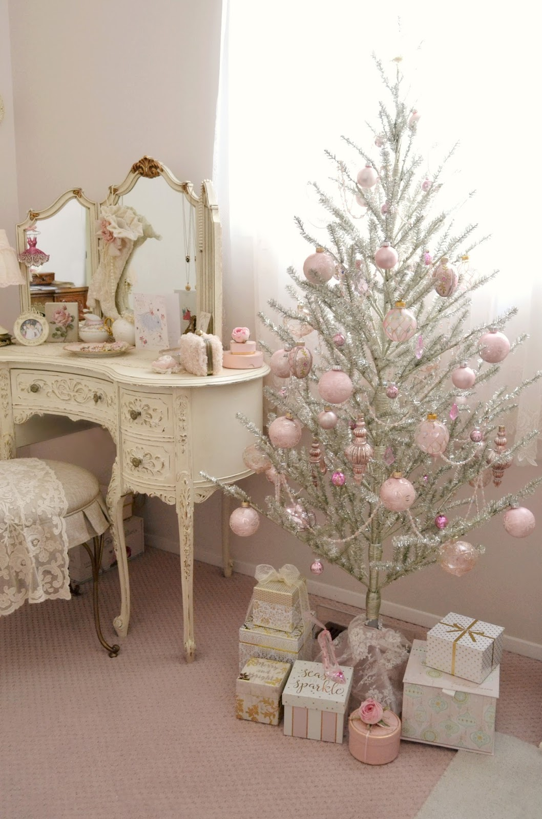 Jennelise christmas in my studio - Deco noel shabby chic ...