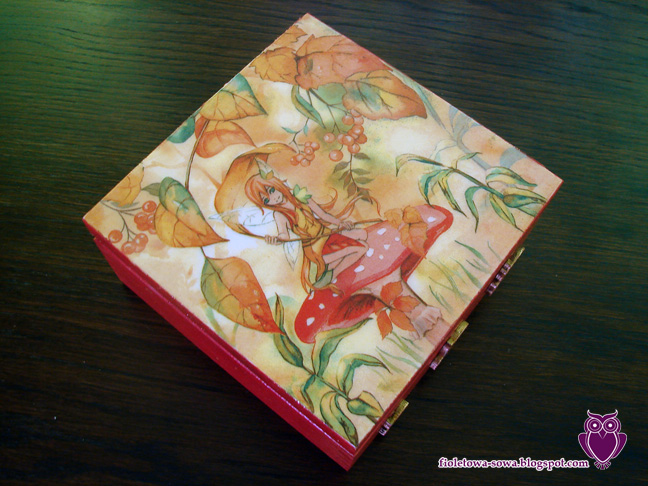 decoupage teabox