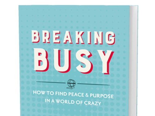 Breaking Busy: A Book Review & Giveaway #BreakingBusy