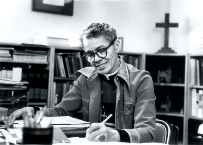 a835039da4d Pauli Murray - born in Maryland on this date in 1910 - became the first  black American woman to be ordained as an Episcopal priest. That was in  1977
