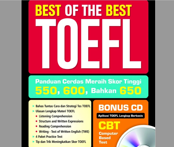 Best of the Best TOEFL (Panduan Cerdas Meraih Skor Tinggi)