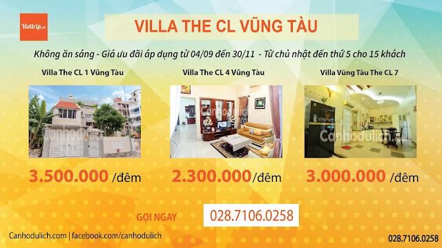 Khuyến mãi tại Classic villa Vũng Tàu
