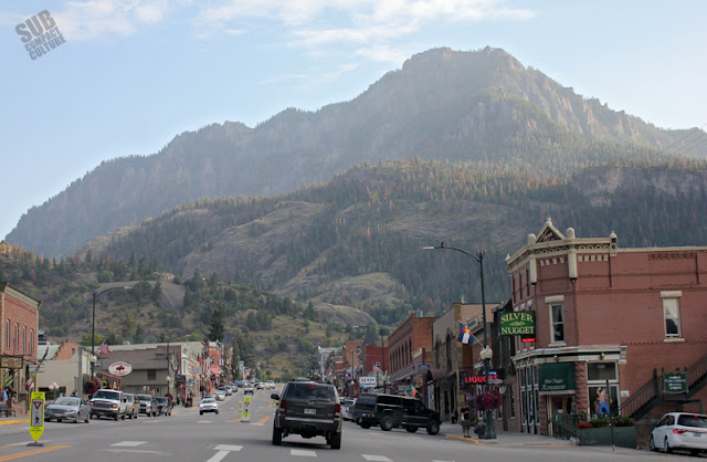 Main St. in Ouray, CO