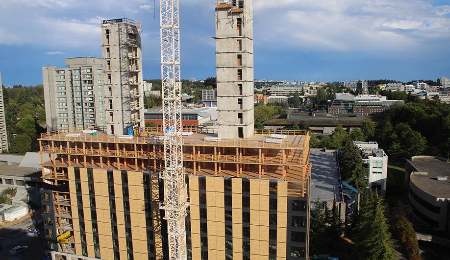 Un rascacielos de madera en Vancouver|Espacios en madera