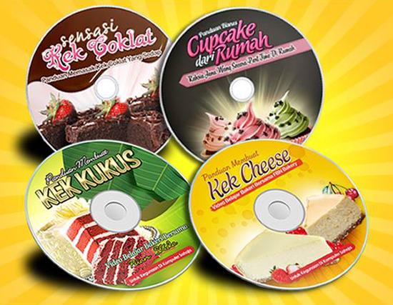 CD Belajar Kek Bakeri Surirumah Berbisnes