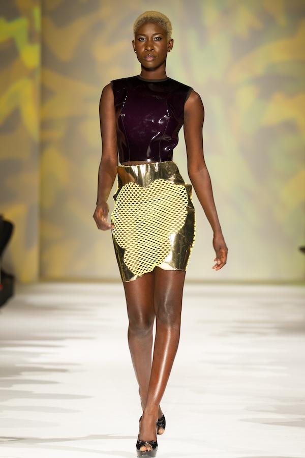 BLACK FASHION WEEK PARIS 2012: LAQUAN SMITH