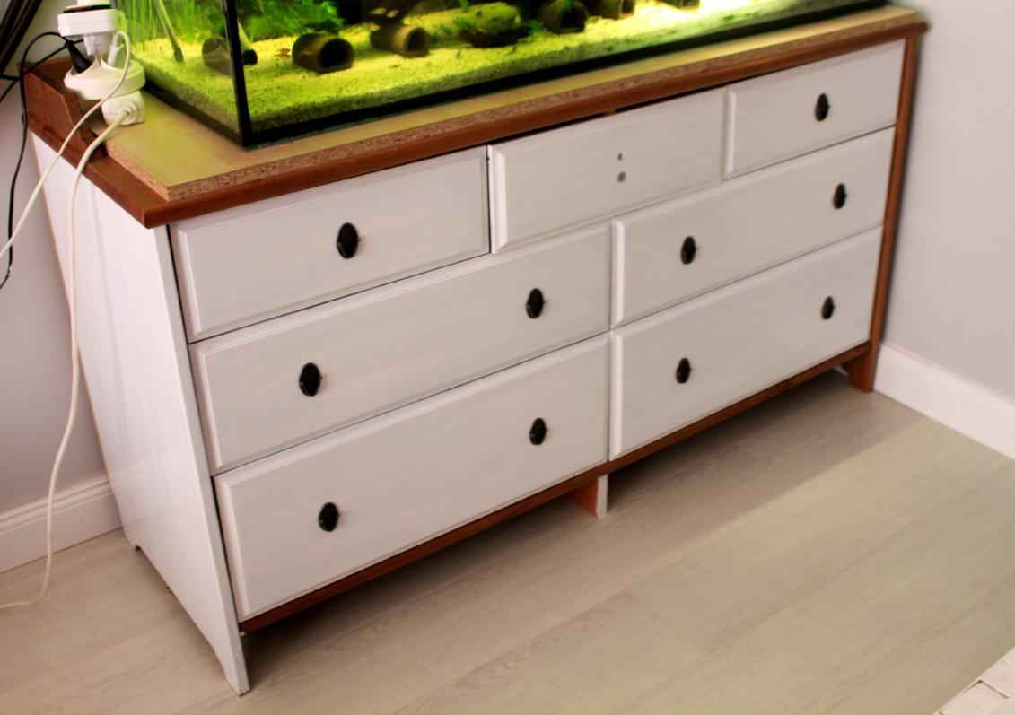 Credenza Ikea Serie Leksvik : Ikea komody szafy metamorfoza malm babyroom projektdiy