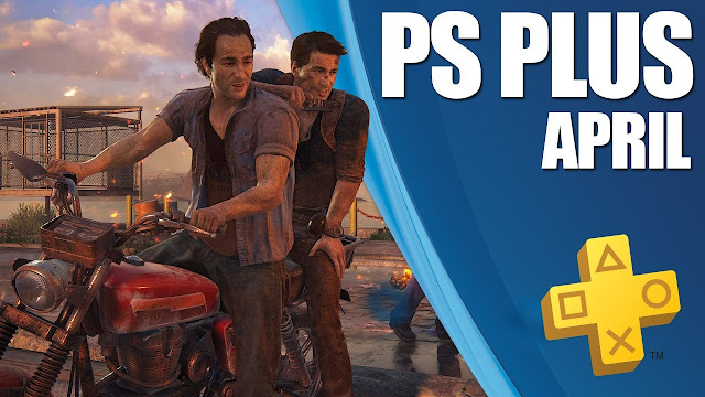 PS Plus April Games Free Uncharted 4