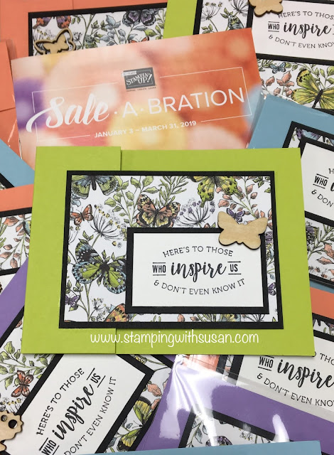 Stampin' Up!, Botanical Butterfly, www.stampingwithsusan.com, 2019 Sale-A-Bration, Butterfly Elements