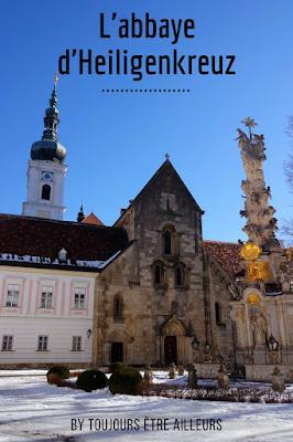 pin abbaye heiligenkreuz wienerwald autriche
