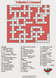 Valentine's Crossword Hard 4