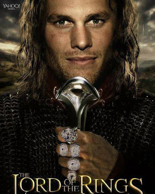 #patriots #tombrady #5rings - the lord of the rings