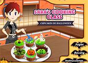 juegos de cocina sara cupcakes halloween
