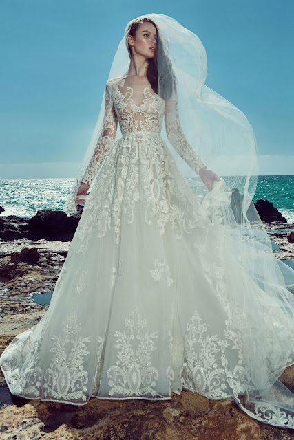 Zuhair Murad 2017 Princess Wedding Dress