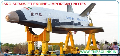 Current Affairs: ISRO Scramjet Engine - Important Notes - in